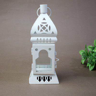 European-style Moroccan home furnishings of antique iron lamp candlestickHome Gadgets<br>European-style Moroccan home furnishings of antique iron lamp candlestick<br><br>Available Color: White<br>Materials: Metal<br>Package Contents: 1xcandlestick<br>Package Size(L x W x H): 12.00 x 12.00 x 24.00 cm / 4.72 x 4.72 x 9.45 inches<br>Package weight: 0.4000 kg