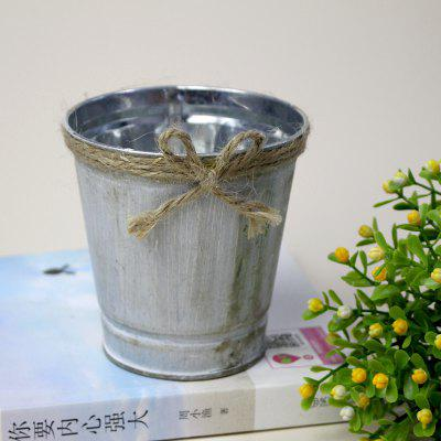 Vintage iron bucket flowerpot flower shop iron bucket