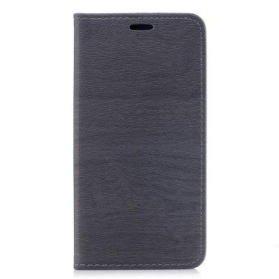 Cover Case for Xiaomi Redmi 4A Card Holder with Stand Flip Full Body Lines / Waves Hard PU Leather