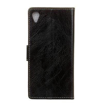 Cover Case For Sony Xperia XA1 Plus Genuine Quality Retro Style Crazy Horse Pattern Flip PU Leather Wallet CaseCases &amp; Leather<br>Cover Case For Sony Xperia XA1 Plus Genuine Quality Retro Style Crazy Horse Pattern Flip PU Leather Wallet Case<br><br>Features: With Credit Card Holder<br>Material: PU Leather<br>Package Contents: 1 x Phone Case<br>Package size (L x W x H): 20.00 x 20.00 x 5.00 cm / 7.87 x 7.87 x 1.97 inches<br>Package weight: 0.0500 kg<br>Product weight: 0.0300 kg<br>Style: Vintage, Solid Color