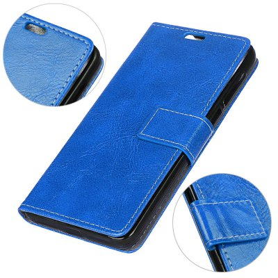 Cover Case For Xiaomi Redmi Note 5A Genuine Quality Retro Style Crazy Horse Pattern Flip PU Leather Wallet CaseCases &amp; Leather<br>Cover Case For Xiaomi Redmi Note 5A Genuine Quality Retro Style Crazy Horse Pattern Flip PU Leather Wallet Case<br><br>Features: With Credit Card Holder<br>Material: PU Leather<br>Package Contents: 1 x Phone Case<br>Package size (L x W x H): 20.00 x 20.00 x 5.00 cm / 7.87 x 7.87 x 1.97 inches<br>Package weight: 0.0500 kg<br>Product weight: 0.0300 kg<br>Style: Vintage, Solid Color