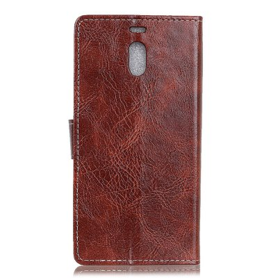 Cover Case For Meizu Mei Note 6 Genuine Quality Retro Style Crazy Horse Pattern Flip PU Leather Wallet CaseCases &amp; Leather<br>Cover Case For Meizu Mei Note 6 Genuine Quality Retro Style Crazy Horse Pattern Flip PU Leather Wallet Case<br><br>Features: With Credit Card Holder<br>Material: PU Leather<br>Package Contents: 1 x Phone Case<br>Package size (L x W x H): 20.00 x 20.00 x 5.00 cm / 7.87 x 7.87 x 1.97 inches<br>Package weight: 0.0500 kg<br>Product weight: 0.0300 kg<br>Style: Vintage, Solid Color