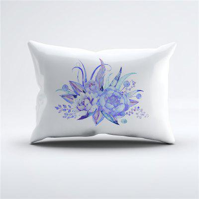A Novel, Embroidered and Painted Series Leaf Type Design, New and Comfortable Pillow Case