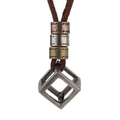 Rhombus Necklaces for Fashion Accessories