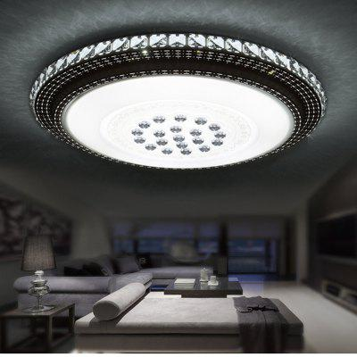 36 Watts of Air and Sky City Round LED Crystal Ceiling Light 51 CM