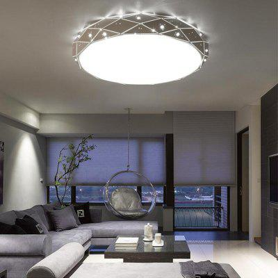 36 Watts Without Pole Dimming Creative Circular LED Ceiling Light 46 Cm