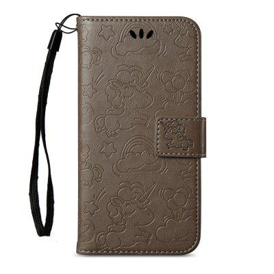 Horse and Cloud Embossing Card Slot Wallet Cover Case for iPhone XiPhone Cases/Covers<br>Horse and Cloud Embossing Card Slot Wallet Cover Case for iPhone X<br><br>Compatible for Apple: iPhone X<br>Features: With Credit Card Holder, With Lanyard, Anti-knock, Wallet Case<br>Material: TPU, PU Leather<br>Package Contents: 1 x Phone Case<br>Package size (L x W x H): 15.00 x 8.50 x 1.80 cm / 5.91 x 3.35 x 0.71 inches<br>Package weight: 0.0660 kg<br>Style: Pattern, Funny, Cool