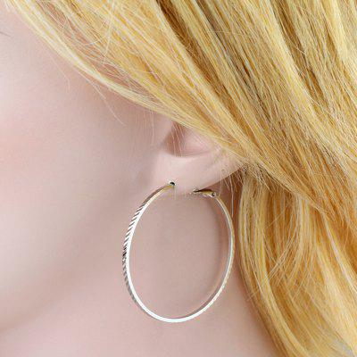 Fashion Indentation Big Earrings ER0356Earrings<br>Fashion Indentation Big Earrings ER0356<br><br>Back Finding: Other<br>Earring Type: Hoop Earrings<br>Gender: For Women<br>Material: Cubic Zirconia<br>Metal Type: Copper<br>Occasion: Party<br>Package Contents: 1 x Earrings<br>Package size (L x W x H): 5.00 x 3.50 x 0.50 cm / 1.97 x 1.38 x 0.2 inches<br>Package weight: 0.0100 kg<br>Shape/Pattern: Geometric<br>Style: Classic<br>Surface Plating: 18K Gold Plated