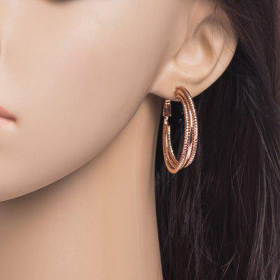 Three Layer Spiral Large Earrings  ER0361Earrings<br>Three Layer Spiral Large Earrings  ER0361<br><br>Back Finding: Other<br>Earring Type: Hoop Earrings<br>Gender: For Women<br>Material: Cubic Zirconia<br>Metal Type: Copper<br>Occasion: Party<br>Package Contents: 1 x Earrings<br>Package size (L x W x H): 5.00 x 3.50 x 0.50 cm / 1.97 x 1.38 x 0.2 inches<br>Package weight: 0.0100 kg<br>Shape/Pattern: Geometric<br>Style: Classic<br>Surface Plating: 18K Gold Plated