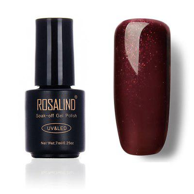 ROSALIND Phototherapy Glue LED Nail Glue Gelishi Solid-Colored Series 7 Ml