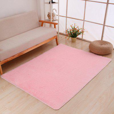 Buy PINK 50X80CM Door Rug Simple Fresh Style Rectangle Yoga Mat for $7.37 in GearBest store