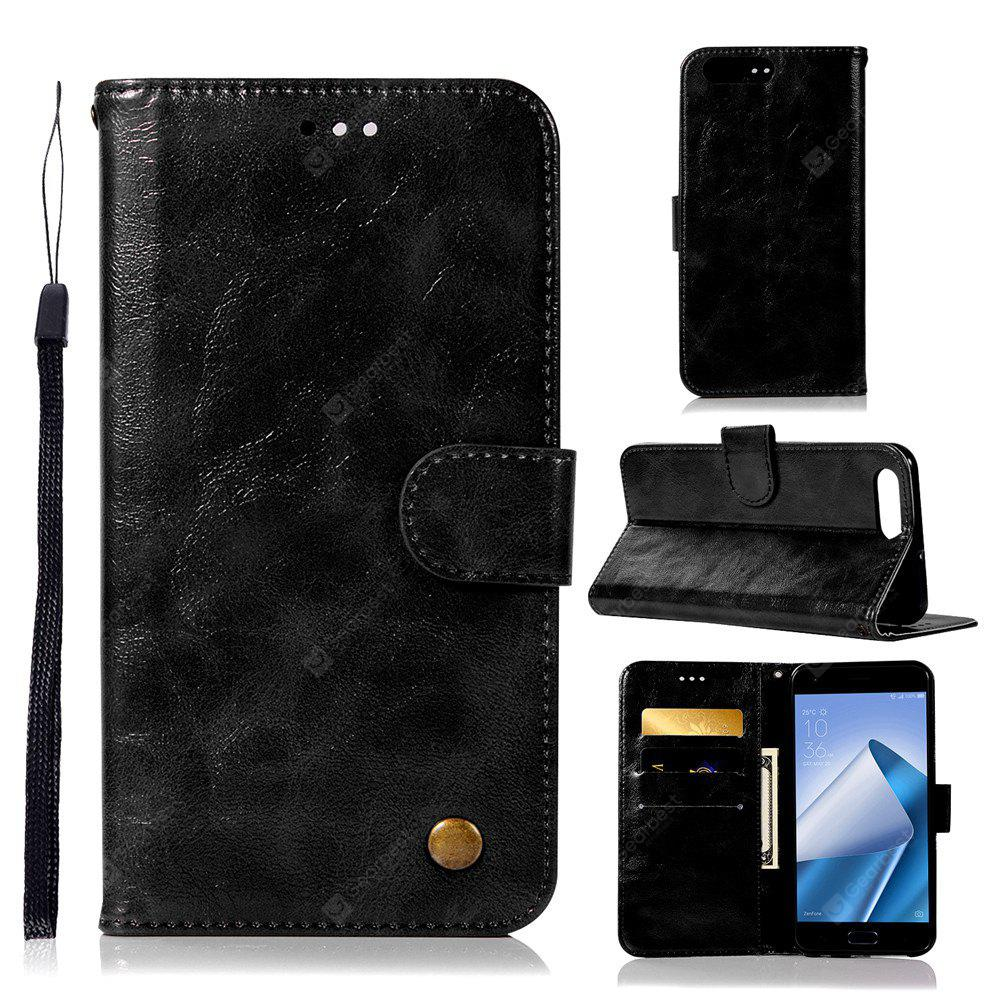 Retro Fashion Flip Leather Case PU Wallet Case For Asus Zenfone 4 Max ZC554KL Case 5.5 Inch Phone Bag with Stand