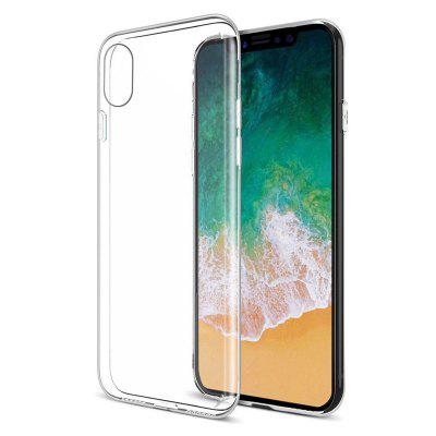 Shockproof TPU Transparent Protective Case Cover Skin for iPhone X