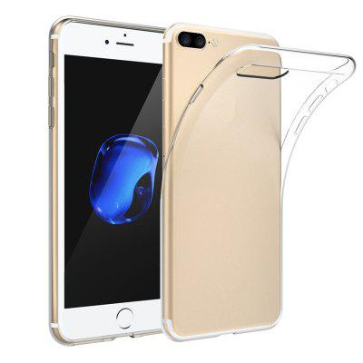 Housse de protection de coque de protection transparente antichoc TPU pour iPhone 8 Plus / 7 Plus