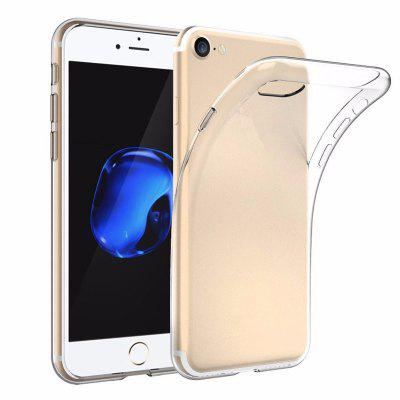 Shockproof TPU Transparent Protective Case Cover Skin for iPhone 8 / 7