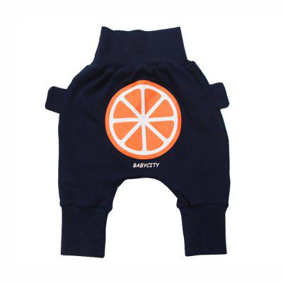 Infants Explosion Models 2017 Fall New Cute Fruit Big PP Collapse Pants