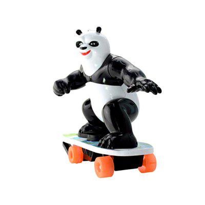 Electric Remote Control Car 360 Degree Revolving Panda Scooter