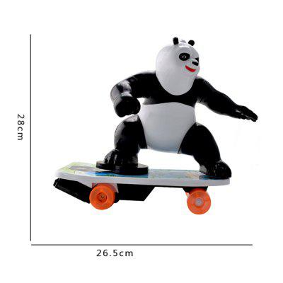 Electric Remote Control Car 360 Degree Revolving Panda ScooterRC Cars<br>Electric Remote Control Car 360 Degree Revolving Panda Scooter<br><br>Functions: Forward/backward, With music, 360 degrees precise orientation, Rotation<br>Material: ABS<br>Package Contents: 1 x Electric remote control scooter,1 x Remote control,1 x Charger<br>Package size (L x W x H): 37.00 x 30.00 x 19.00 cm / 14.57 x 11.81 x 7.48 inches<br>Package weight: 0.8000 kg<br>Remote Control: Radio Control<br>Type: Model Car
