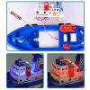 Children model toys electric model fire boat music lights on the water - COLOUR
