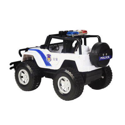 Four-Channel Wireless Remote Police Car