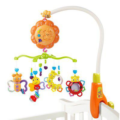 Baby Bed Bell Music Rotation Newborn Baby Toy