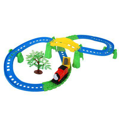 Electric Rail Toys Set 1.9 Meters Rail Kid's Track Toys