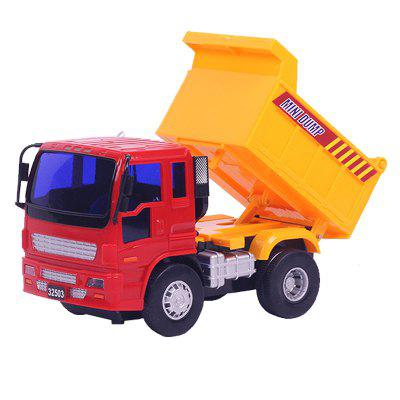 Engineering Vehicle Model Toy Vehicle Inertial Power Car Back of The Car Dumper 32503