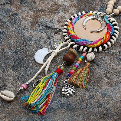 Long Style Bohemian National Love and Seashell NecklaceNecklaces &amp; Pendants<br>Long Style Bohemian National Love and Seashell Necklace<br><br>Gender: For Women<br>Item Type: Pendant Necklaces<br>Material: Zinc Alloy<br>Metal Type: Others<br>Package Contents: 1 x necklace<br>Package size (L x W x H): 1.00 x 1.00 x 1.00 cm / 0.39 x 0.39 x 0.39 inches<br>Package weight: 0.0750 kg<br>Product weight: 0.0650 kg<br>Shape/Pattern: Round<br>Style: Bohemia<br>Surface Plating: 14K Gold Plated