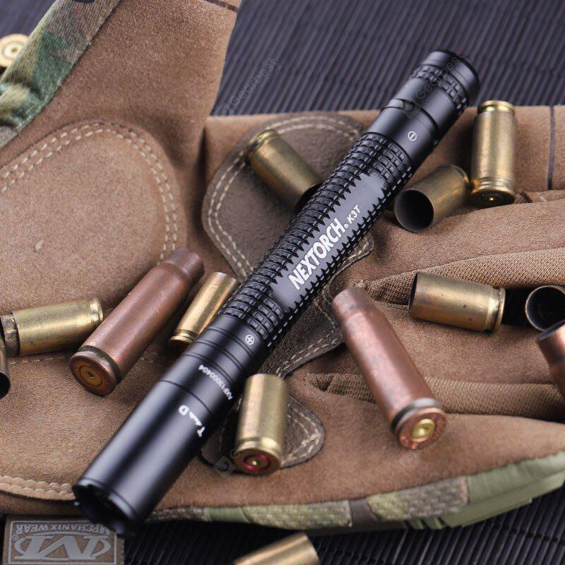 NEXTORCH K3T High Ouput Tactical Penlight with Dual Mode TACTICAL AND DUTY MODES
