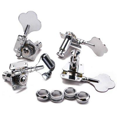 Bass Guitar 4R Machine Heads Knobs Tuners Tuning PegsGuitar Parts<br>Bass Guitar 4R Machine Heads Knobs Tuners Tuning Pegs<br><br>Materials: Zinc Alloy<br>Package Contents: 4 x Machine heads,16 x Mounting Screws ,4 x Ferrules<br>Package size: 15.00 x 14.00 x 5.00 cm / 5.91 x 5.51 x 1.97 inches<br>Package weight: 0.3660 kg<br>Product size: 13.00 x 12.00 x 4.00 cm / 5.12 x 4.72 x 1.57 inches<br>Suitable for: Guitar, Bass Guitar<br>Type: Other