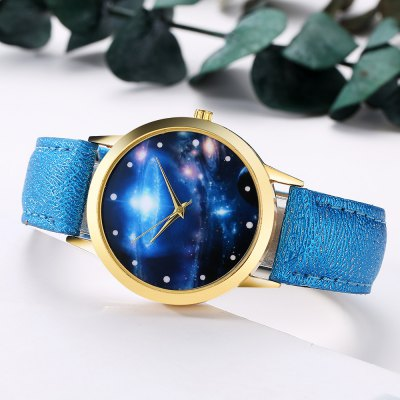 GAIETY G377 Womens Leather Strap Space Dial Dress WatchWomens Watches<br>GAIETY G377 Womens Leather Strap Space Dial Dress Watch<br><br>Band material: PU Leather<br>Band size: 24x1.8 cm<br>Case material: Metal<br>Clasp type: Pin buckle<br>Dial size: 4x4x0.7 cm<br>Display type: Analog<br>Movement type: Quartz watch<br>Package Contents: 1 x Watch<br>Package size (L x W x H): 24.50 x 4.50 x 1.00 cm / 9.65 x 1.77 x 0.39 inches<br>Package weight: 0.0280 kg<br>Product size (L x W x H): 24.00 x 4.00 x 0.70 cm / 9.45 x 1.57 x 0.28 inches<br>Product weight: 0.0260 kg<br>Shape of the dial: Round<br>Watch mirror: Mineral glass<br>Watch style: Jewellery, Childlike, Lovely, Classic, Fashion, Casual<br>Watches categories: Women,Female table<br>Water resistance: No