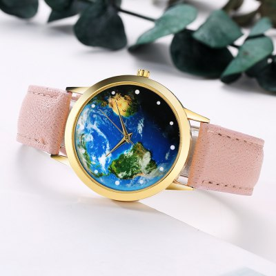 GAIETY G375 Womens Earth Dial Leather Strap Quartz WatchWomens Watches<br>GAIETY G375 Womens Earth Dial Leather Strap Quartz Watch<br><br>Band material: PU Leather<br>Band size: 24x1.8 cm<br>Case material: Metal<br>Clasp type: Pin buckle<br>Dial size: 4x4x0.7 cm<br>Display type: Analog<br>Movement type: Quartz watch<br>Package Contents: 1 x Watch<br>Package size (L x W x H): 24.50 x 4.50 x 1.00 cm / 9.65 x 1.77 x 0.39 inches<br>Package weight: 0.0280 kg<br>Product size (L x W x H): 24.00 x 4.00 x 0.70 cm / 9.45 x 1.57 x 0.28 inches<br>Product weight: 0.0260 kg<br>Shape of the dial: Round<br>Watch mirror: Mineral glass<br>Watch style: Jewellery, Childlike, Lovely, Classic, Fashion, Casual<br>Watches categories: Women,Female table<br>Water resistance: No