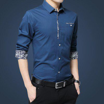 MenS Floral Decoration Code ShirtPlus Size Tops<br>MenS Floral Decoration Code Shirt<br><br>Collar: Turn-down Collar<br>Material: Cotton<br>Package Contents: 1 x Shirt<br>Shirts Type: Casual Shirts<br>Sleeve Length: Full<br>Weight: 0.2500kg