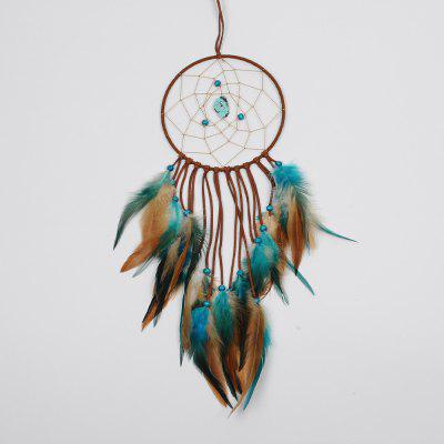 1Pc India Retro Life Tree Colorful Piuma Dream Catcher Wind Chimes Hanging Dreamcatcher Festa di Natale Decoratio