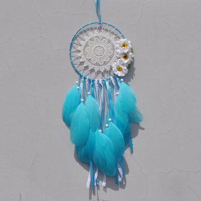 White Lace Flower Dreamcatcher Wind Chimes Indian Style Feather Pendant Dream Catcher Creative Car Hanging DecorationTapestries<br>White Lace Flower Dreamcatcher Wind Chimes Indian Style Feather Pendant Dream Catcher Creative Car Hanging Decoration<br><br>For: Others, Lovers, Sisters, Brothers, Parents, Teachers, Friends, Student<br>Material: Others, Metal<br>Package Contents: 1 x Dream Catcher , 1 x Opp<br>Package size (L x W x H): 40.00 x 15.00 x 1.00 cm / 15.75 x 5.91 x 0.39 inches<br>Package weight: 0.0360 kg<br>Subjects: People,Fashion,Others,Cartoon,Abstract,Botanical,Landscape,Architecture<br>Usage: Others, Party, Wedding, Birthday, Christmas, New Year