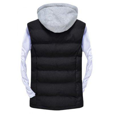 Mens Vest Jacket High Quality Detachable Hat Warm Stylish Zipper JacketMens Jackets &amp; Coats<br>Mens Vest Jacket High Quality Detachable Hat Warm Stylish Zipper Jacket<br><br>Clothes Type: Jackets<br>Collar: Hooded<br>Material: Cotton, Acetate<br>Package Contents: 1 xCotton vest<br>Season: Spring, Summer, Fall<br>Shirt Length: Regular<br>Sleeve Length: Sleeveless<br>Style: Casual<br>Weight: 0.5000kg