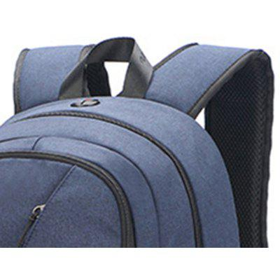 SK105 Leisure Security Computer BagBackpacks<br>SK105 Leisure Security Computer Bag<br><br>For: Fishing, Cycling, Traveling<br>Material: Oxford Fabric<br>Package Contents: 1 x Backpack<br>Package size (L x W x H): 32.00 x 52.00 x 15.00 cm / 12.6 x 20.47 x 5.91 inches<br>Package weight: 0.8200 kg<br>Product size (L x W x H): 31.00 x 51.00 x 14.00 cm / 12.2 x 20.08 x 5.51 inches<br>Product weight: 0.8000 kg<br>Type: Backpack