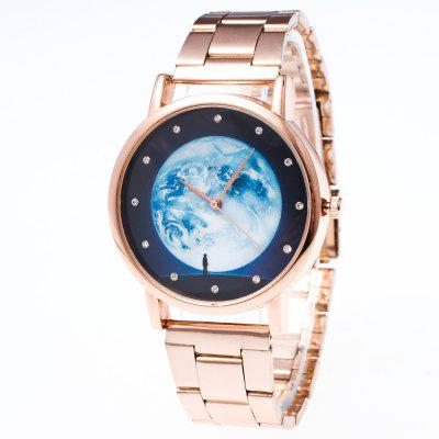Star Series Leisure Watch Business Watches Golden Steel Strap Strap Gift Box