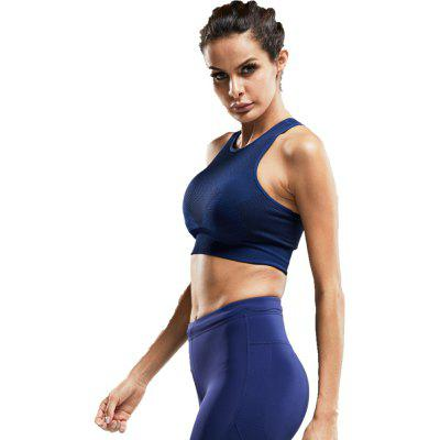 Quick Dry Sports Bra Women Fitness Underwear Push Up Seamless Yoga Running Tops