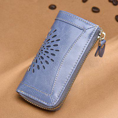 NaLandu Vintage Hollow Out Design Leather Key Holder Wallet PouchWallets<br>NaLandu Vintage Hollow Out Design Leather Key Holder Wallet Pouch<br><br>Closure Type: Zipper<br>Embellishment: Hollow Out<br>Gender: For Women<br>Height: 6.5<br>Interior: Interior Slot Pocket, Interior Key Chain Holder<br>Main Material: Polyester, Genuine Leather<br>Package Contents: 1 x Wallet<br>Package size (L x W x H): 13.00 x 2.00 x 8.00 cm / 5.12 x 0.79 x 3.15 inches<br>Package weight: 0.0700 kg<br>Pattern Type: Solid<br>Style: Vintage<br>Wallets Type: Standard Wallets
