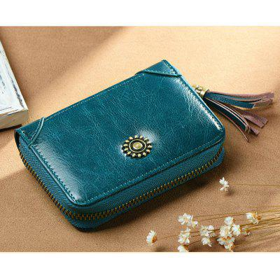 NaLandu Womens Leather Secure Spacious Cute Tassel Card Wallet Small PurseWallets<br>NaLandu Womens Leather Secure Spacious Cute Tassel Card Wallet Small Purse<br><br>Closure Type: Zipper<br>Embellishment: Vintage<br>Gender: For Women<br>Height: 8cm<br>Main Material: Genuine Leather, Polyester<br>Package Contents: 1 x Wallet<br>Package size (L x W x H): 12.00 x 4.00 x 8.00 cm / 4.72 x 1.57 x 3.15 inches<br>Package weight: 0.1100 kg<br>Pattern Type: Solid<br>Style: Vintage<br>Wallets Type: Standard Wallets