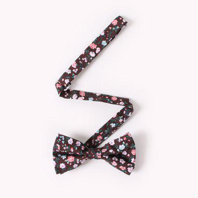 MenS Casual Cotton Print Floral Bow TieTies &amp; Cufflinks<br>MenS Casual Cotton Print Floral Bow Tie<br><br>Group: Adult<br>Package Contents: 1 x tie<br>Package size (L x W x H): 13.00 x 8.00 x 9.00 cm / 5.12 x 3.15 x 3.54 inches<br>Package weight: 0.0140 kg<br>Pattern Type: Floral<br>Style: Casual<br>Type: Bow Tie