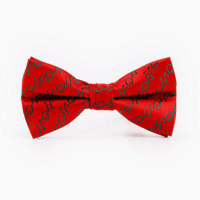 Men'S Christmas Bow Necktie