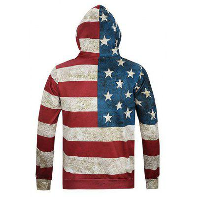 Fashion and Leisure 3D Digital Geometric Stripe Print Personality Trend  HoodieMens Hoodies &amp; Sweatshirts<br>Fashion and Leisure 3D Digital Geometric Stripe Print Personality Trend  Hoodie<br><br>Material: Polyester<br>Package Contents: 1xHoodie<br>Shirt Length: Regular<br>Sleeve Length: Full<br>Style: Casual<br>Weight: 0.4000kg