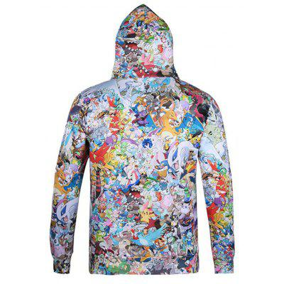 Stylish Hip Hop Casual Jacket Floral Personality Trend Couple HoodiesMens Hoodies &amp; Sweatshirts<br>Stylish Hip Hop Casual Jacket Floral Personality Trend Couple Hoodies<br><br>Material: Polyester<br>Package Contents: 1xHoodie<br>Shirt Length: Regular<br>Sleeve Length: Full<br>Style: Fashion<br>Weight: 0.4000kg
