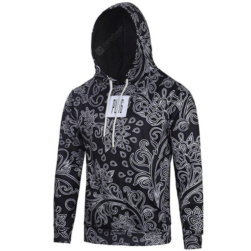 Fashion Casual Pullover 3D Printed Hoodie