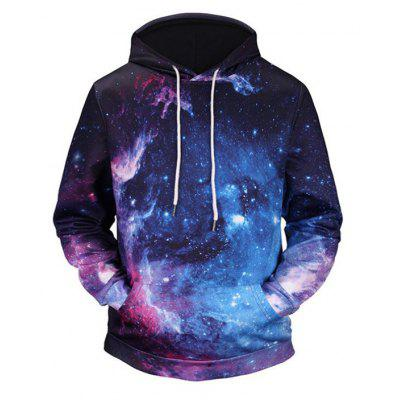 Fashion Casual Men's Fashion Trend 3D Printed Lovers' Hoodie