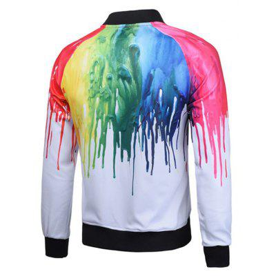 Fashion Mens Casual Fashion Trend 3D Digital Printed Jacket Baseball JacketMens Jackets &amp; Coats<br>Fashion Mens Casual Fashion Trend 3D Digital Printed Jacket Baseball Jacket<br><br>Closure Type: Zipper<br>Clothes Type: Jackets<br>Colors: White<br>Materials: Polyester<br>Package Content: 1xLoose coat<br>Package size (L x W x H): 1.00 x 1.00 x 1.00 cm / 0.39 x 0.39 x 0.39 inches<br>Package weight: 0.4000 kg<br>Pattern Type: Print<br>Size1: M,L,XL<br>Style: Fashion