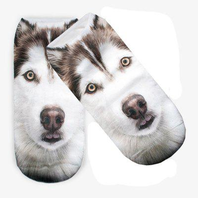 Women Funny Huskies Dog Graphic 3D Full Print Women Cute Low Cut Ankle SocksSocks &amp; Tights<br>Women Funny Huskies Dog Graphic 3D Full Print Women Cute Low Cut Ankle Socks<br><br>Contents: 1 x Pair of Socks<br>Gender: Women<br>Material: Cotton, Polyester<br>Package size (L x W x H): 1.00 x 1.00 x 1.00 cm / 0.39 x 0.39 x 0.39 inches<br>Package weight: 0.0500 kg<br>Style: Fashion<br>Type: Socks