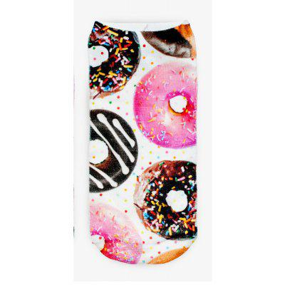 Donuts Graphic 3D Full Printing Women Low Cut Ankle Sock Lovely Multiple Colors Hosiery SocksSocks &amp; Tights<br>Donuts Graphic 3D Full Printing Women Low Cut Ankle Sock Lovely Multiple Colors Hosiery Socks<br><br>Contents: 1 x Pair of Socks<br>Gender: Women<br>Material: Cotton, Polyester<br>Package size (L x W x H): 1.00 x 1.00 x 1.00 cm / 0.39 x 0.39 x 0.39 inches<br>Package weight: 0.0500 kg<br>Style: Fashion<br>Type: Socks
